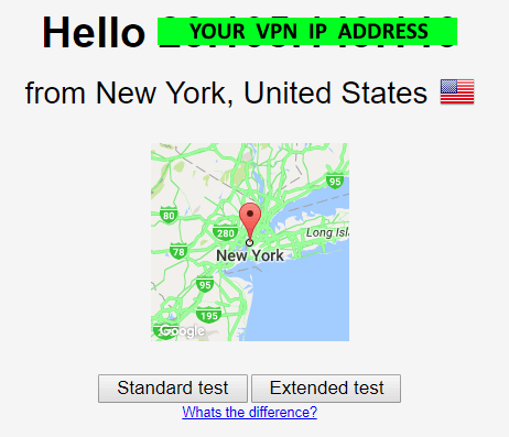 VPN IP address