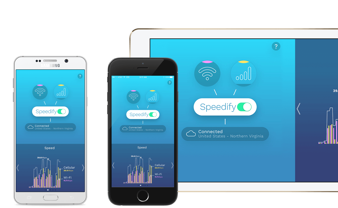 Speedify for iOS and Android